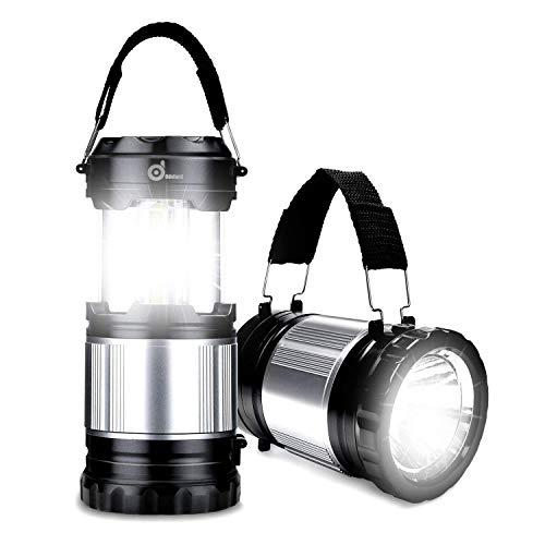Odoland LED Laterne, 2-in-1 Camping Laterne Taschenlampe LED 300lm, wasserdichte Campinglampe Campingleuchte Zeltlampe Notlicht Notfalllampe, tragbar für Camping Outdoor Wandern (300 Lumen)