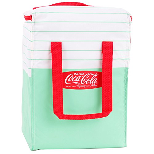 Preisvergleich Produktbild Coca-Cola Coca-Cola-Kuehltasche-FALTBAR-classic-14-liter-Kuehlbox-Coka-Cola (Grün)