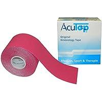 AcuTop Kinesiology Tape für Sport und Medizin in 9 Farben (Pink) preisvergleich bei billige-tabletten.eu