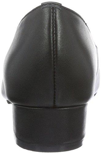 Andrea Conti 3002730, Escarpins femme Noir - Schwarz (Schwarz 002)