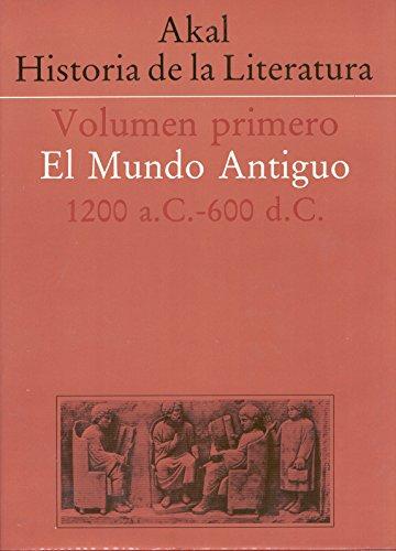 Historia de la literatura I por VV AA