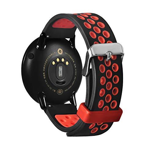 Saisiyiky Cinturino di ricambio compatibile con Xiaomi Huami Amazfit Smart Watch A1602