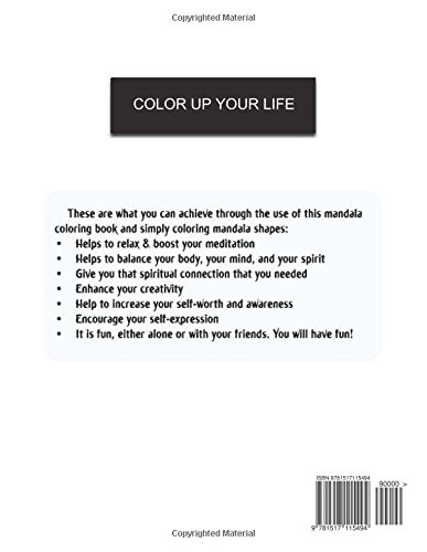 Adult Coloring Book: Coloring Books for Adults Relaxation : Relaxation & Stress Relieving Patterns: Volume 7