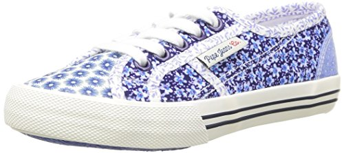 Pepe Jeans Baker Flowers, Baskets Basses Fille