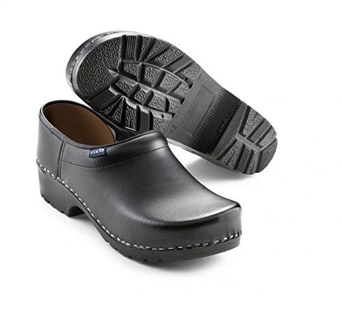 Sika Footwear Traditionell Arbeits-Clogs Schwarz