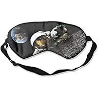 Eye Mask Eyeshade Astronaut Climbing Sleep Mask Blindfold Eyepatch Adjustable Head Strap preisvergleich bei billige-tabletten.eu