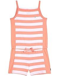 Nautica Girls' Colorblock Stripe Romper