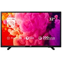 Philips 32PHT4503/05 32-Inch HD Ready LED TV with Freeview HD - Black (2018/2019 Model)