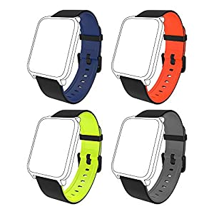 Fitpolo Bandas de reemplazo de Silicona H706 Fitness Tracker, Correa de Pulsera Activity Tracker, No Tracker (Paquete de… 12