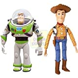 Imported Disney Cartoon Toy Story 3 Sherif Woody Buzz Lightyear PVC Action Figure Model Toys Children Collectible