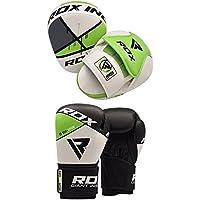 RDX MMA Manoplas Boxeo Paos Muay Thai Kickboxing Artes Marciales Entrenamiento Patada Pad Saco Guantes