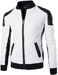 La Cabina Homme Blousons Mode Décontractée Veste Loisir Manches Longues  Jacket Manteau Zipper Grand Taille pour d44f1ceb1d8a