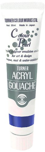 20ml Turner Acryl Gouache Farbe Pearl Indigo 419