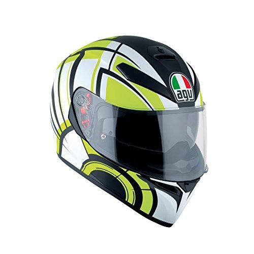 AGV Casco Moto K-3SV E2205Multi plk, Avior Matt White/Lime, S