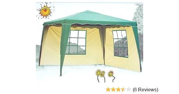 Pavillons Kaufen Eigenschaften : Amazon.de: pavillon everyday grÜn 3x3m mit 2x seitenwand wasserdicht