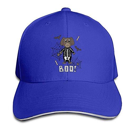 Men's Athletic Baseball Fitted Cap Hat Halloween Durable Baseball Cap Hats Adjustable Peaked Trucker Cap JH4373