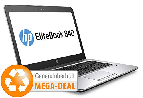 "hp EliteBook 840 G3, 35,6 cm / 14\"", Core i5, 256 GB SSD (generalüberholt)"