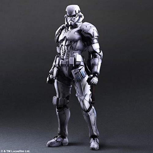 LIYONG Star Wars Toy Sculpture Stormtrooper Soldado