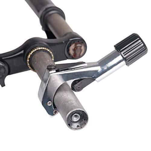 QHJ Fahrrad Rohrschneider Kupfer Schneiden Rohrschneider Rohrschneider Repair Tool Einfach zu tragen Fahrrad Zubehör (Silber)