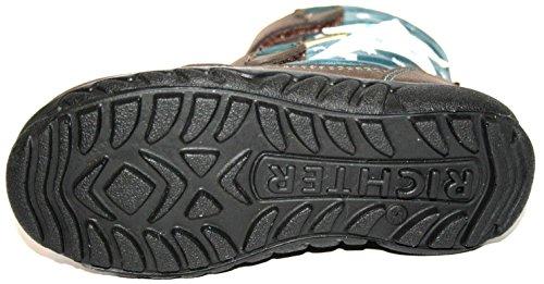 Juge 4331-221enfants Chaussures Filles Bottines pour femme Gris - Grau (grau/türkis 9501)