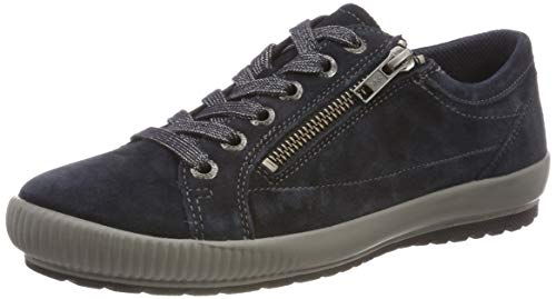 Legero Damen Tanaro Sneaker, Blau (Pacific 80), 40 EU