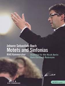 Johann S. Bach - Motets and Sinfonias