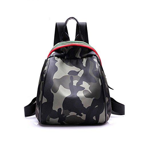 Junge Mädchen Mode Tarn Rucksack Für Studenten Täglichen Gebrauch Und Outdoor-Aktivitäten Paket,A B