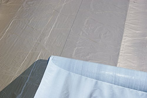 Karibu 68589 Allgemeines Zubehör Selbstklebende Premium-Aluminiumfolie dunkelgrau; Rolle 5 qm