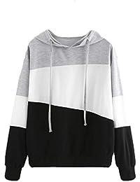 Fashion Women Tops, Anglewolf Ladies Girls Long Sleeve Hoodie Sweatshirt Jumper Hooded Pullover Tops