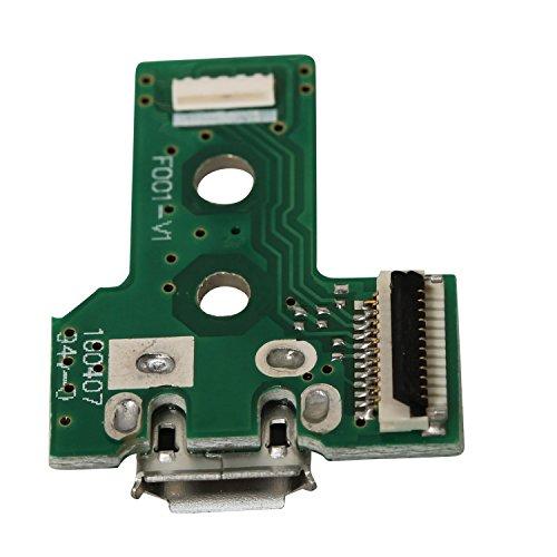 ejiasu-ps4-dualshock-controller-jds-030-scheda-pcb-caricabatteria-sostituzione-12pin-usb-caricabatte