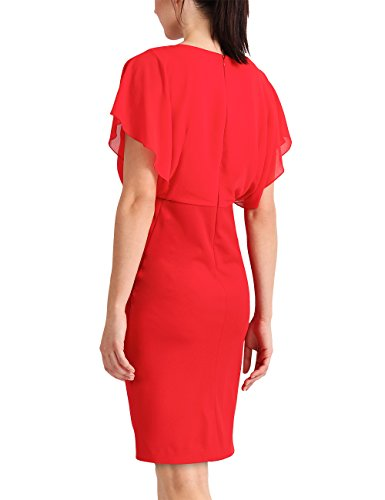 APART Fashion Glamour: Romantic Red Flower, Robe Femme Rouge