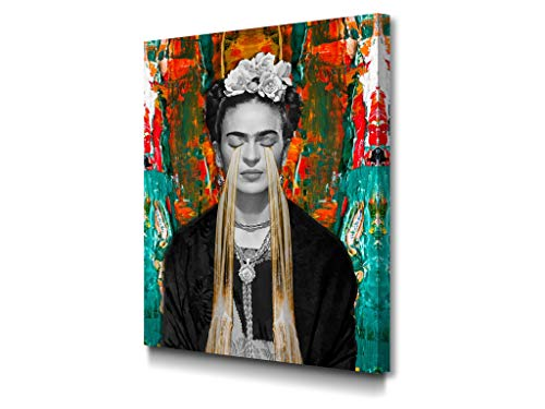 Foto Canvas Cuadro Lienzo Frida Kahlo   Lienzos Decorativos