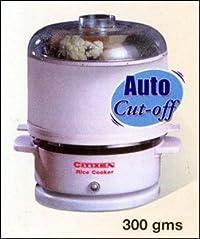 Citizen 400 Watt, 220V Rice Cooker (White)