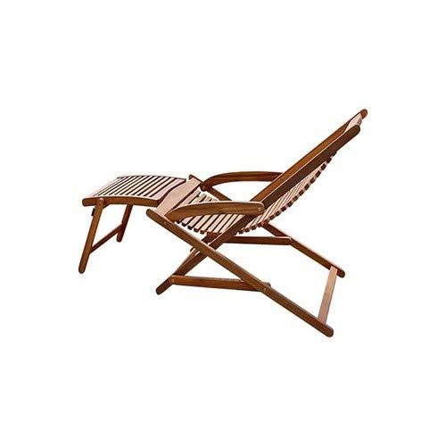 SAM® Akazie Holz Deckchair Fuki - 4