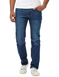 Red Herring Blue Mid Wash Straight Leg Jeans