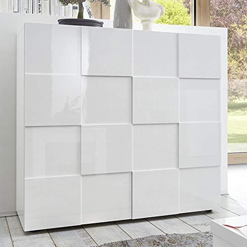 Aparador alto Design Blanco Lacado sandrea