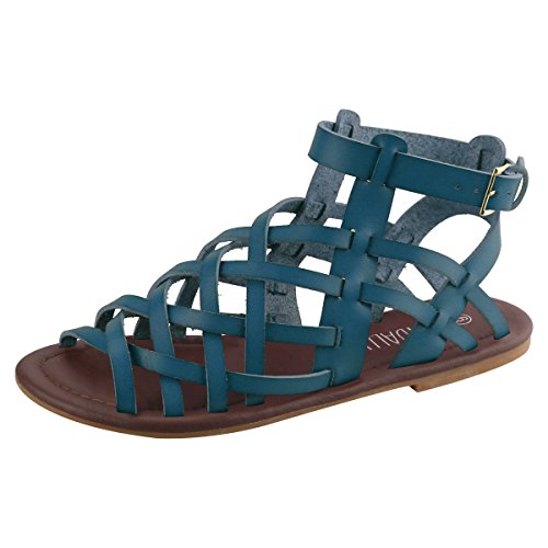 sandalup-strappy-womens-sandals-blue-8-uk