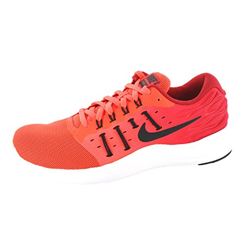 Nike Lunarstelos, Chaussures de Running Entrainement Homme Rojo (Total Crimson / Black-Gym Red-White)