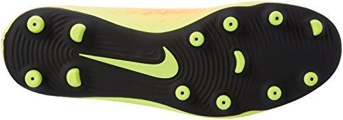 Nike Magista Ola Ii Fg, Chaussures de Football Homme Jaune (Vert Volt/Black/Total Orange/Clear Jade)