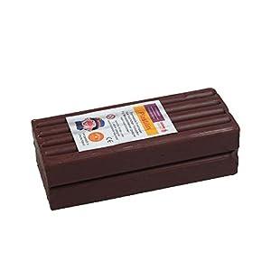 Stellwag 100242-de modelar Plastilin, 1000g, Color marrón
