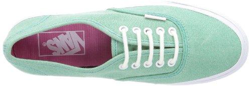 Vans U AUTHENTIC SLIM VQEV8SA Unisex-Erwachsene Sneaker Grün ((Stone Wash) neptune green)