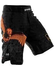 SMMASH MMA Pantalones Cortos GERMANY 2.0 S M L XL XXL MMA BJJ UFC Boxen K1 (XL)
