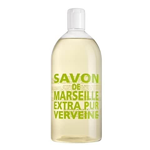 Compagnie de Provence Fresh Verbena Liquid Marseille Soap 33.8oz Refill by OLFATTORIO Srl
