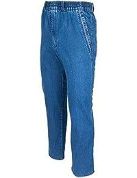 Herren Jeans, Cargojeans, Schlupfhose Schlupfjeans, Stretchjeans von SOUNON® - 5 Farben Größe M bis 5XL