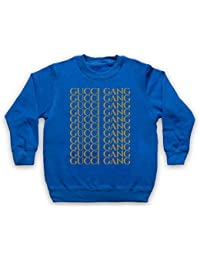 b832ff86ba14 Inspired Apparel Inspire par Lil Pump Gucci Gang Gold Print Officieux  Sweat-Shirt des Enfants