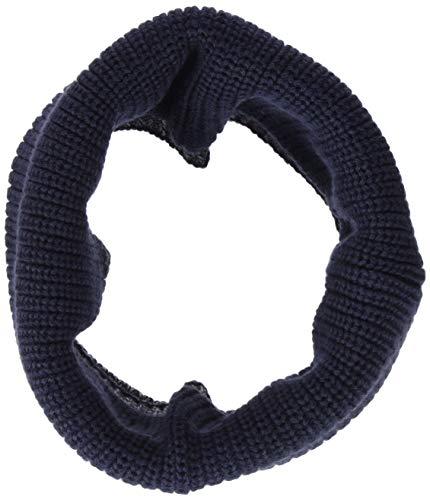 s.Oliver Baby-Jungen Schal 59.809.91.3758, Blau (Dark Blue 5874), One Size (Herstellergröße: 1)