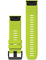 Garmin fenix 5x/3 Silikonarmband QuickFit 26mm yellow 2017 Zubehör