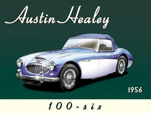 AUSTIN HEALEY–1956Tôle Panneaux Nostalgie 20x 15cm