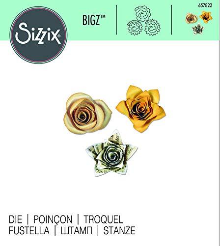 Sizzix Thinlits Fustella, Fiori 3-D # 3 - 3