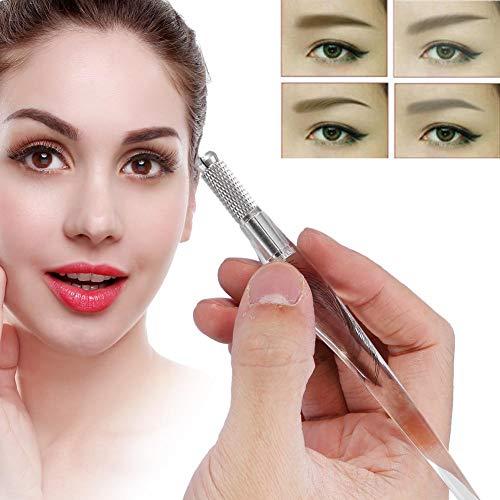 Penna per sopracciglia tatuaggio microblading permanente trucco manuale macchina microblade strumento, aghi per tatuaggio fit